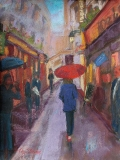 An American in Paris | Pastel | SOLD