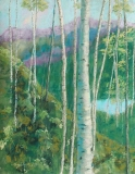 The Lake Below | Pastel | 21 x 16 | $600