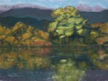 Mirror of Autumn | Pastel | 8 x 10 | $125