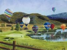 Soaring Over Colorado | Pastel | SOLD