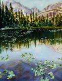 Nymph Lake | Watercolor | Sold